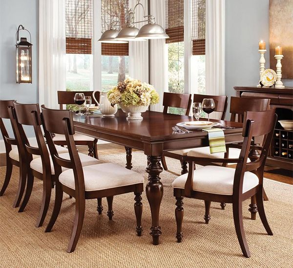 Elegant Tableware For Dining Rooms With Style: Cool 35 Gorgeous Wood Dining Tables To Charm The Dining
