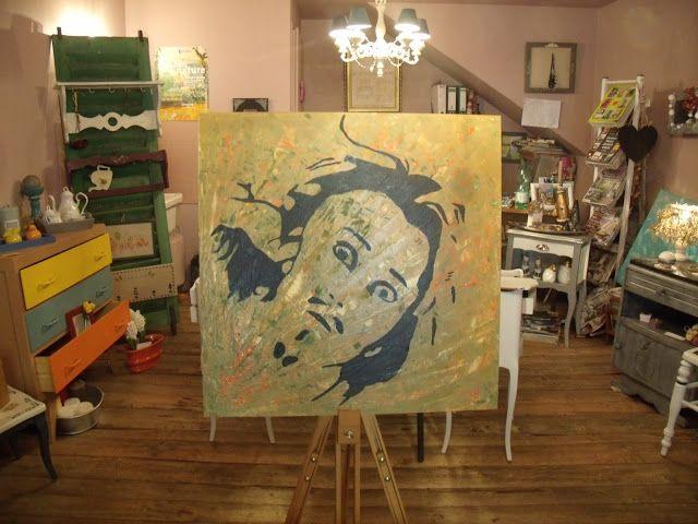 H Et M Deco Mon Desespere Atelier Peinture A Mouthier Haute Atelier Peinture Deco Peinture