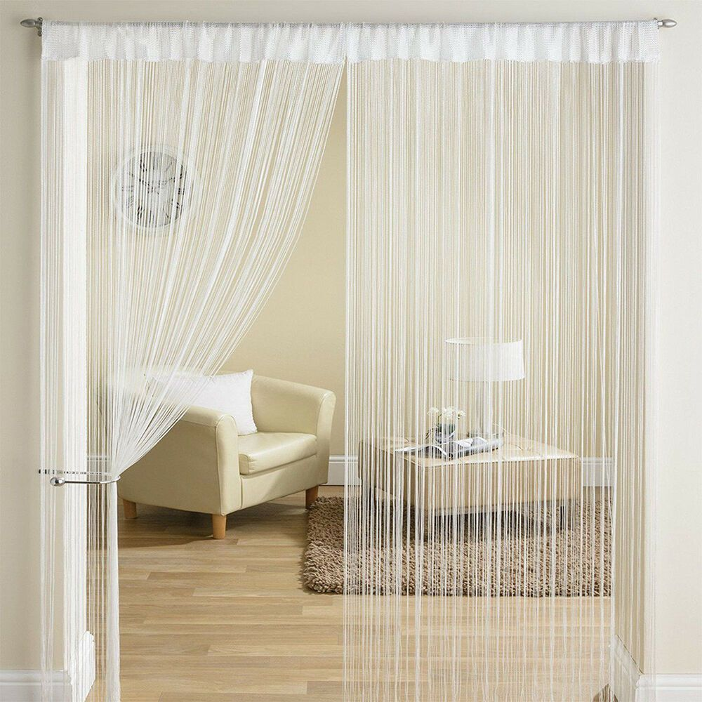 Pin On String Curtains