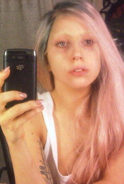 Lady gaga without no makeup
