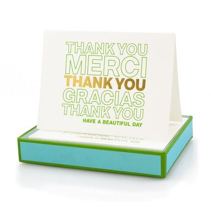 New York Personalized Party Thank You Cards