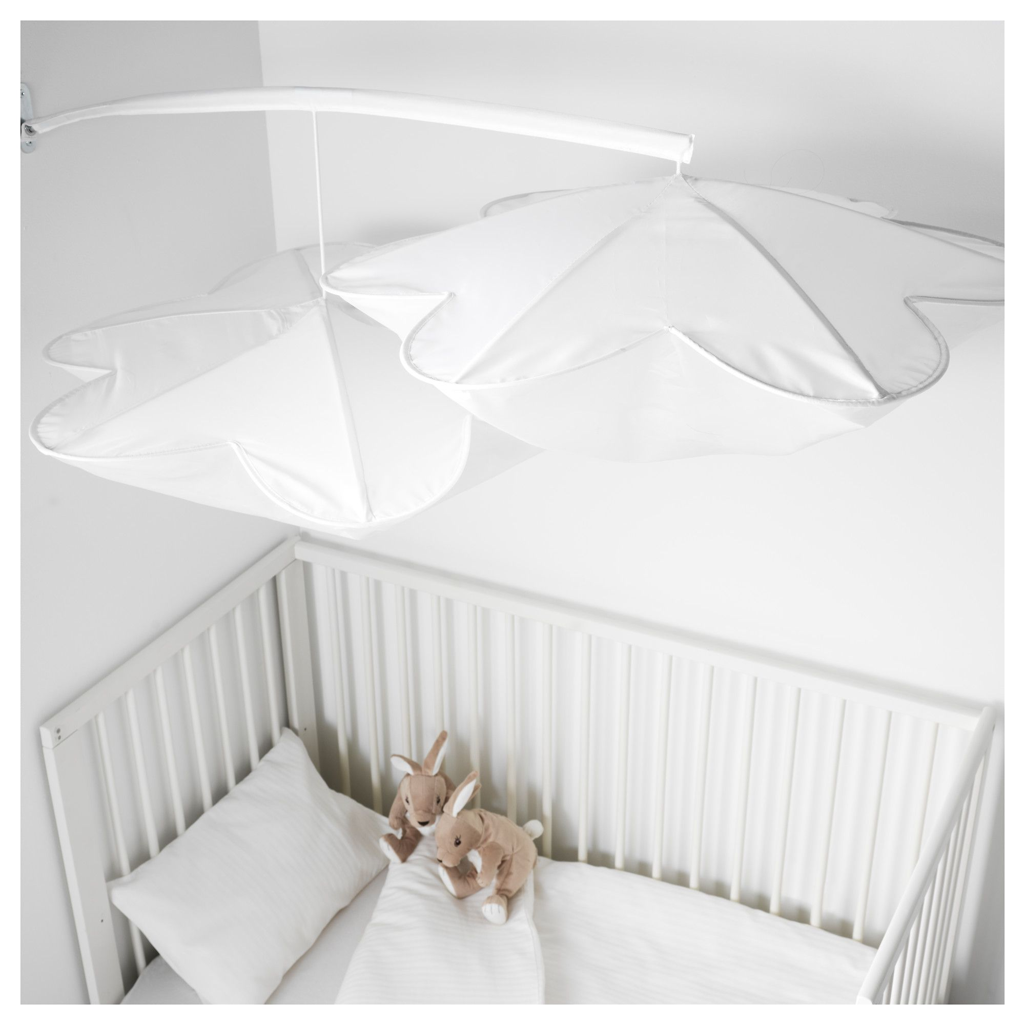 Ikea Himmelsk Bed Canopy White Baby On Board Ikea Bed Ikea