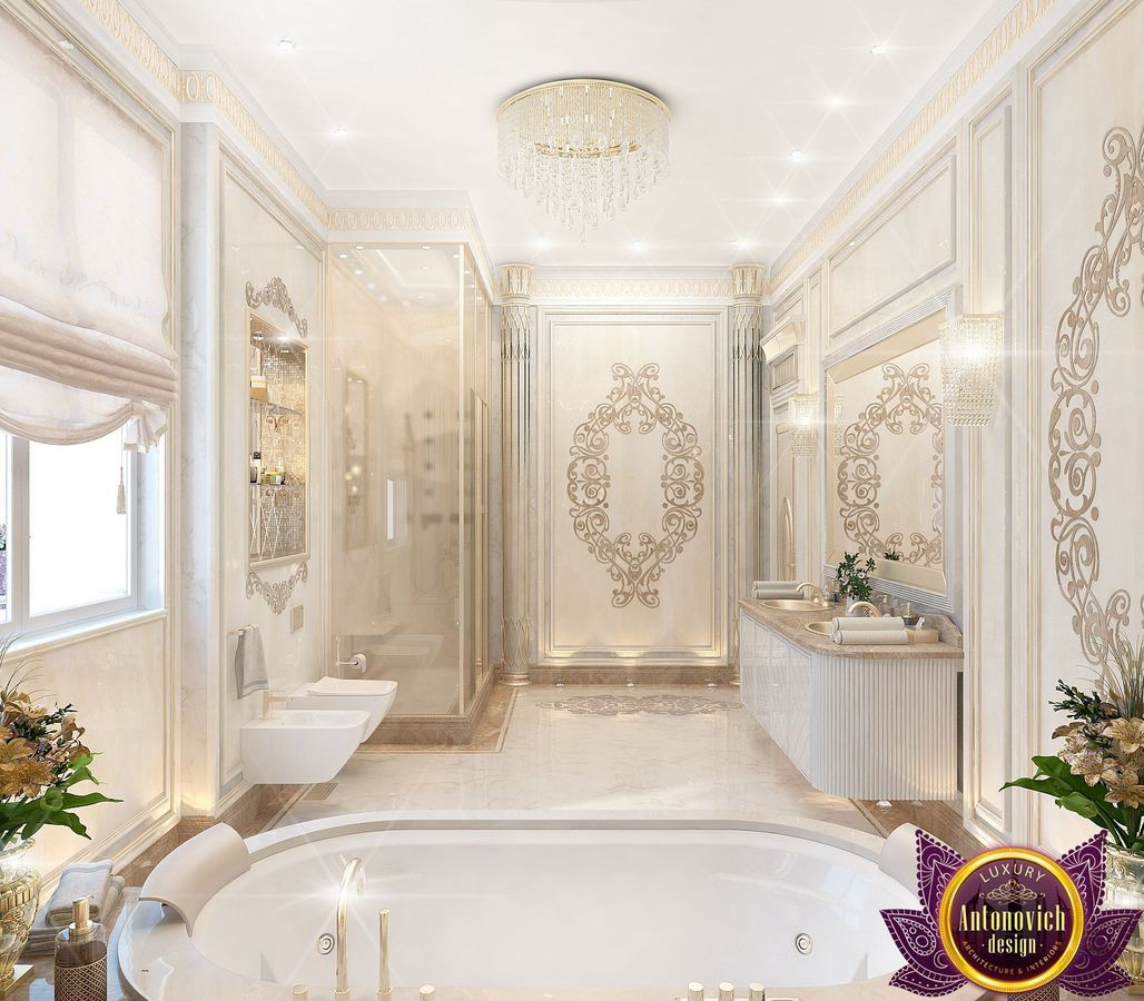 Katrina Antonovich Luxury Interior Design: Bathroom Design Of Katrina Antonovich