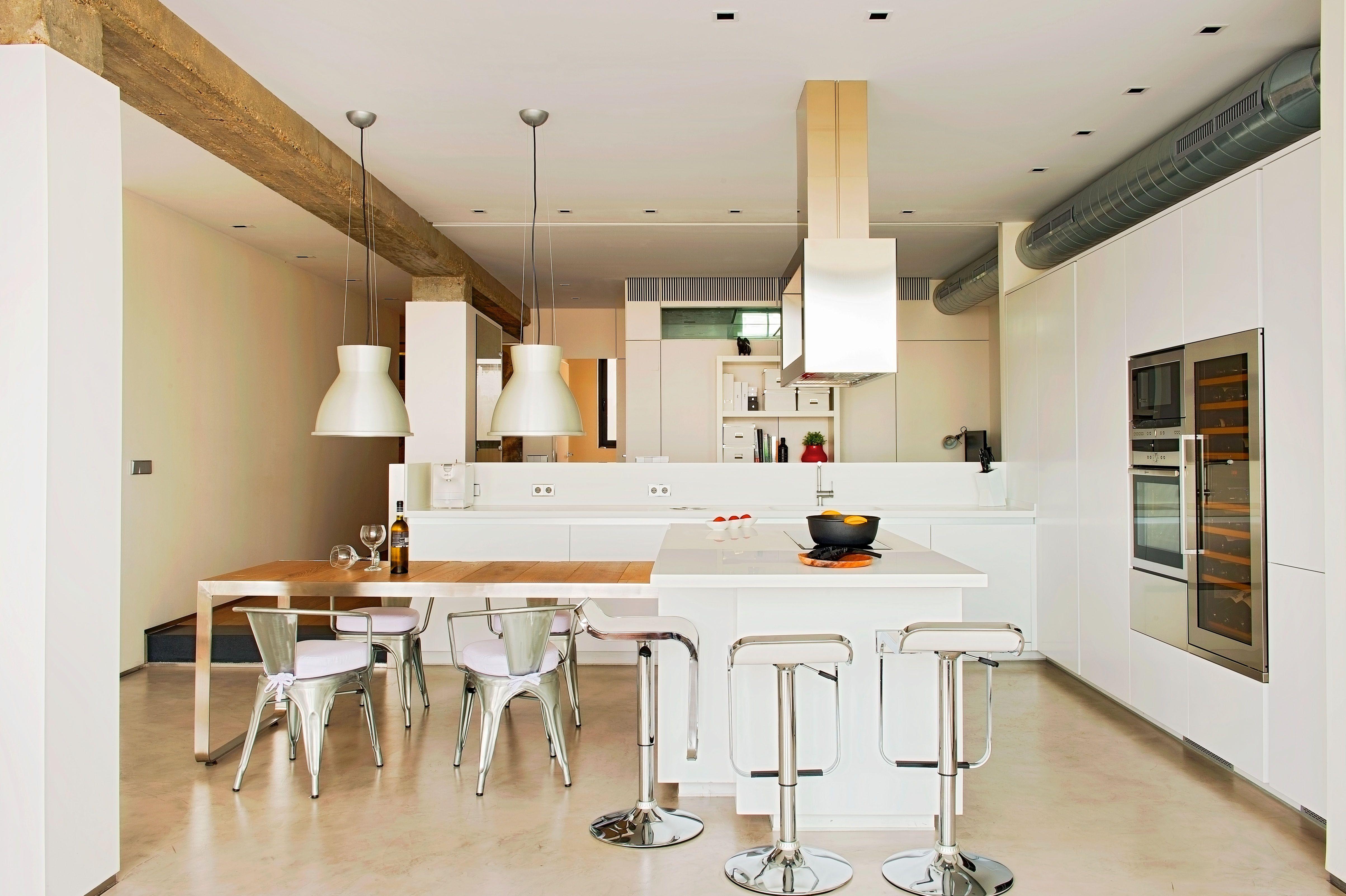 Estudio #Cocina #moderno #decoracion via @planreforma #encimeras ...