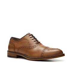 Add a pair of brown Aston Grey Kobe men's oxford shoes to your collection.  The