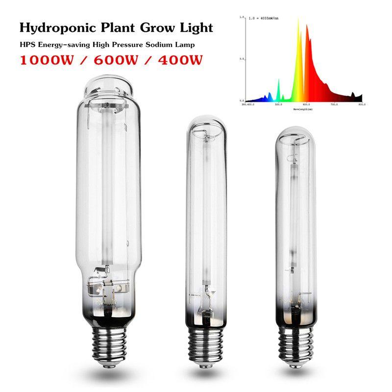 400ワット600ワット1000ワットe40 23ra Hps植物成長ランプ高圧ナトリウムランプエネルギー効率的なロングサービスライフ23000時間 Hydroponics Grow Lamps Growing Plants Indoors