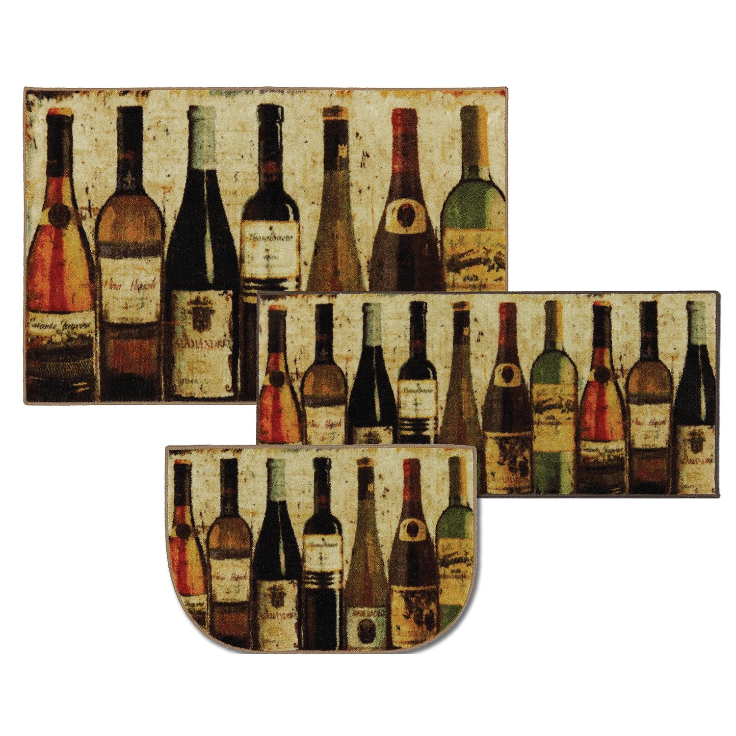 Mohawk New Wave Wine Row Multi Set Contains 20 X 45 30 X 48 And