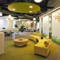 Beautiful Skype Office Interior Design By Blitz Amazing Design