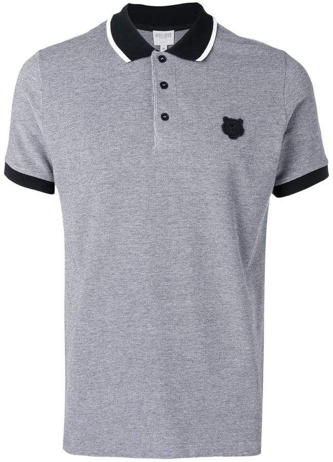 ea072c24 Kenzo Mini Tiger polo shirt in 2019   Products   Kenzo, Polo Shirt, Polo