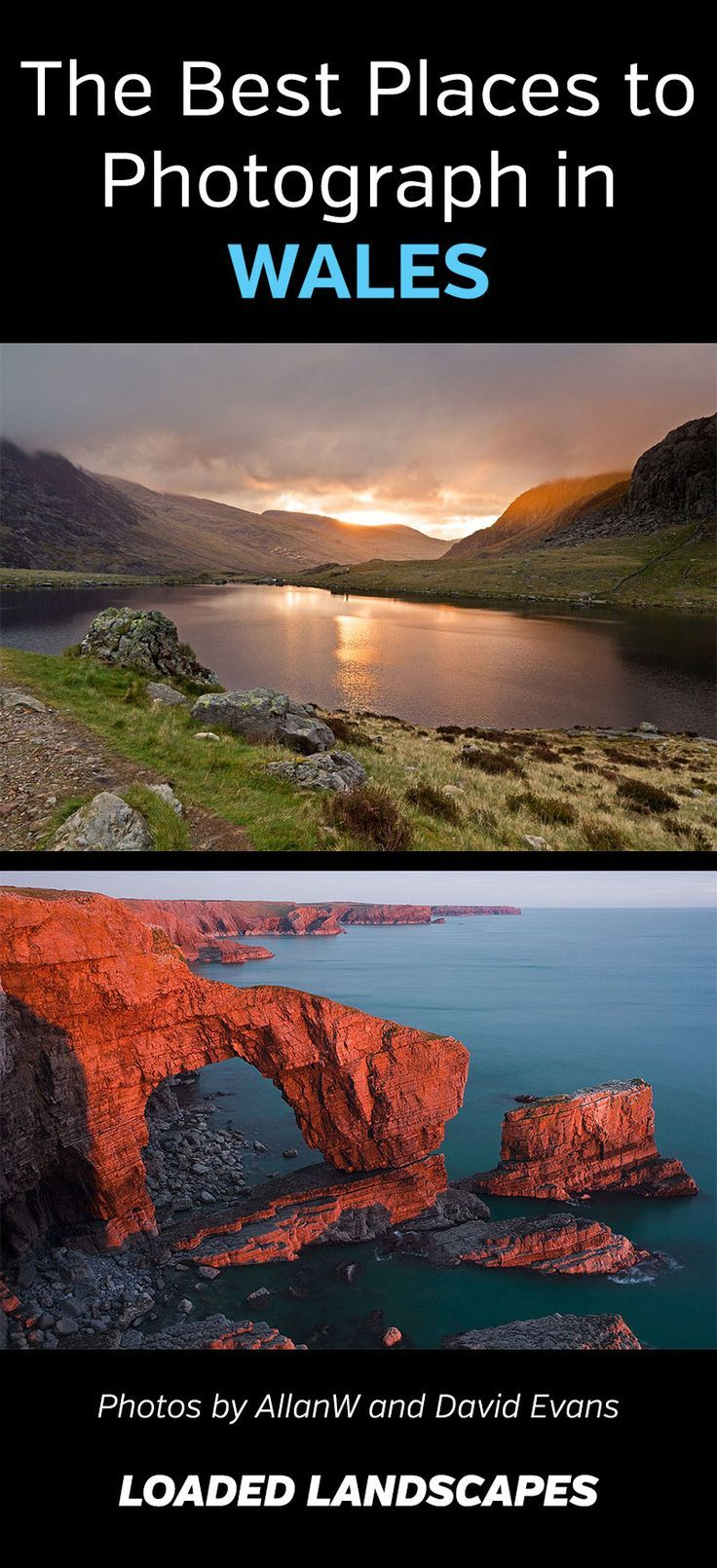 The Best Places to Photograph in Wales #visitwales