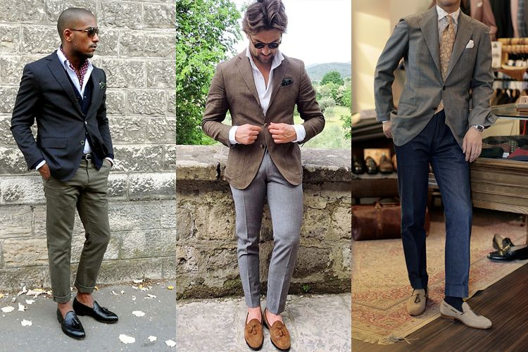 How To Wear Loafers Socks Or No Socks How To Wear Loafers Loafers With Socks Smart Casual Dress