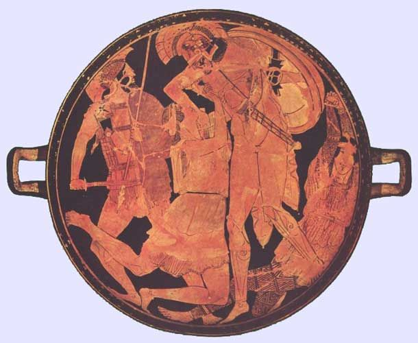 Penthesilea Painter Penthesilea Painter penthesilea and Achilles 460 BC severe The