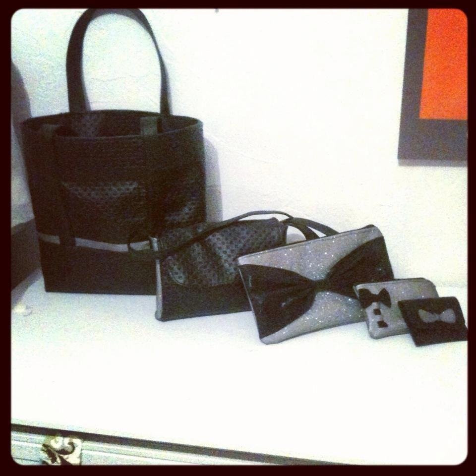 DIY sacs et pochettes noires et pailletées !