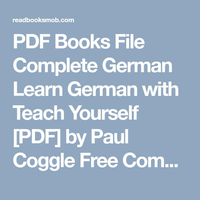 Learn German Ebook