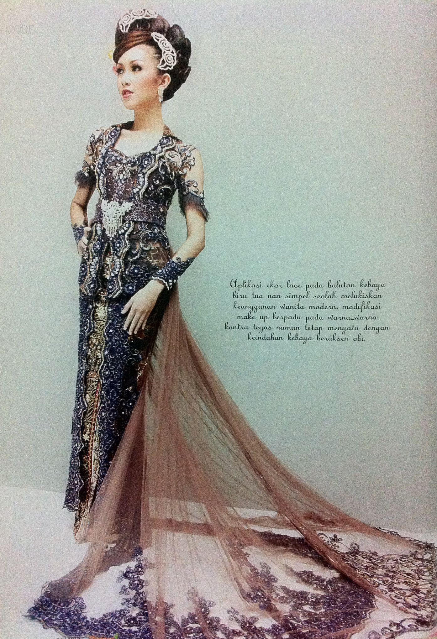 kebaya by Ayok Indonesian Women Kebaya Indonesia Traditional Dresses Exhibit