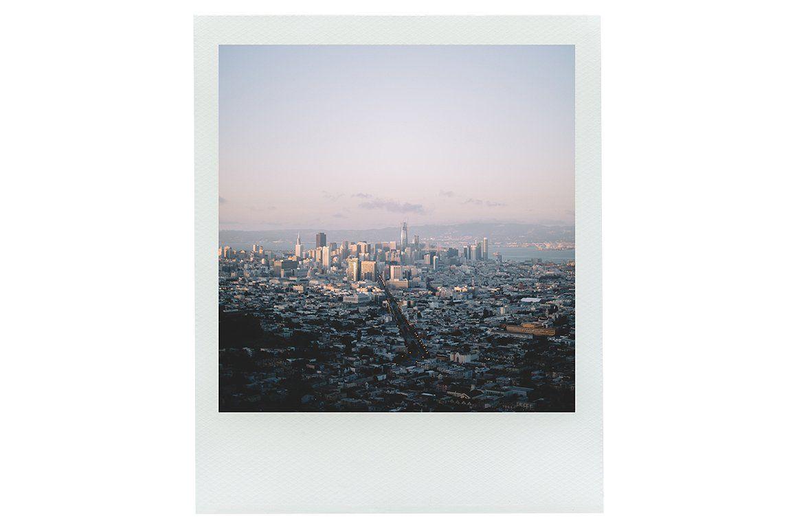 Instant Film Frames Pack Psd Polaroid Frame Branding Design
