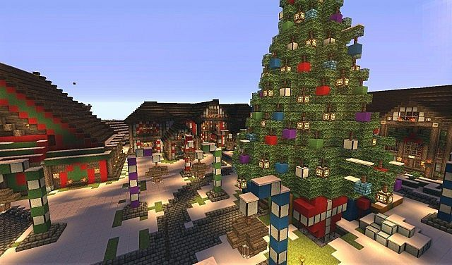 Http Www Img 9minecraft Net Map The North Pole Map 1 Jpg Minecraft Houses Minecraft Designs Minecraft Construction