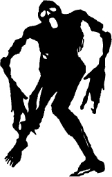 Monster Silhouettes Silhouettes Of Monster Free Zombie Silhouette Halloween Silhouettes Vinyl Decals