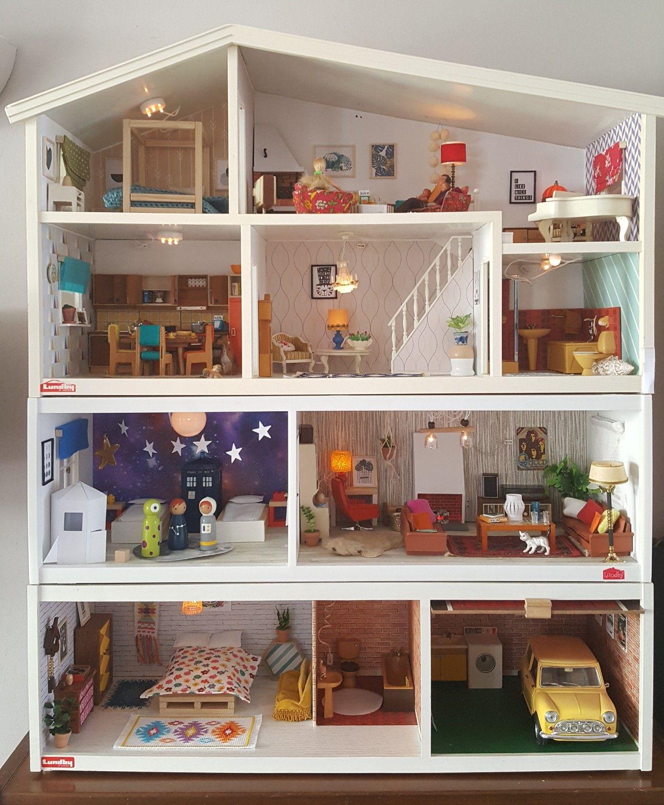 dollhouse Doll house plans, Doll house, Diy dollhouse