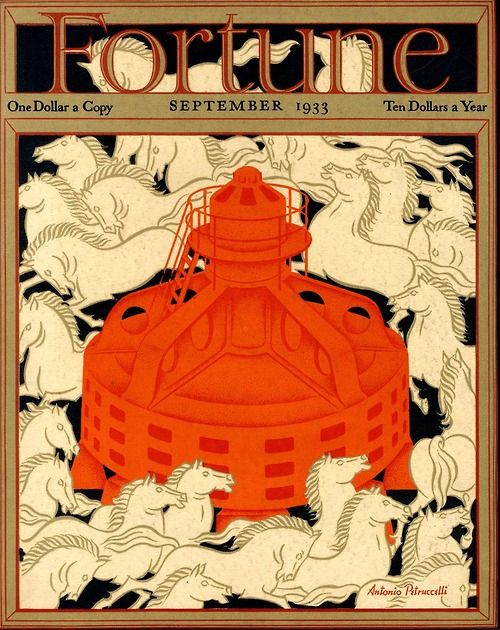 Antonio Petruccelli   Cover of Fortune magazine