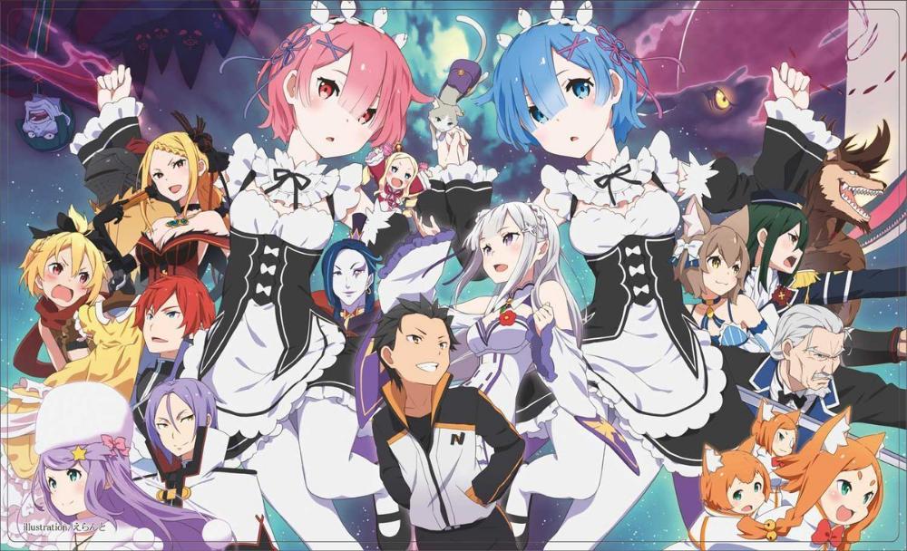 Ya disponible ReZero en Netflix Fondo de anime