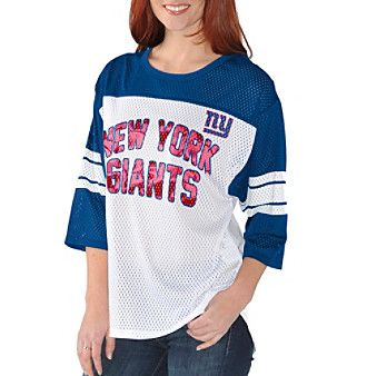 G III NFL® Women's New York Giants First Team Mesh Shirt