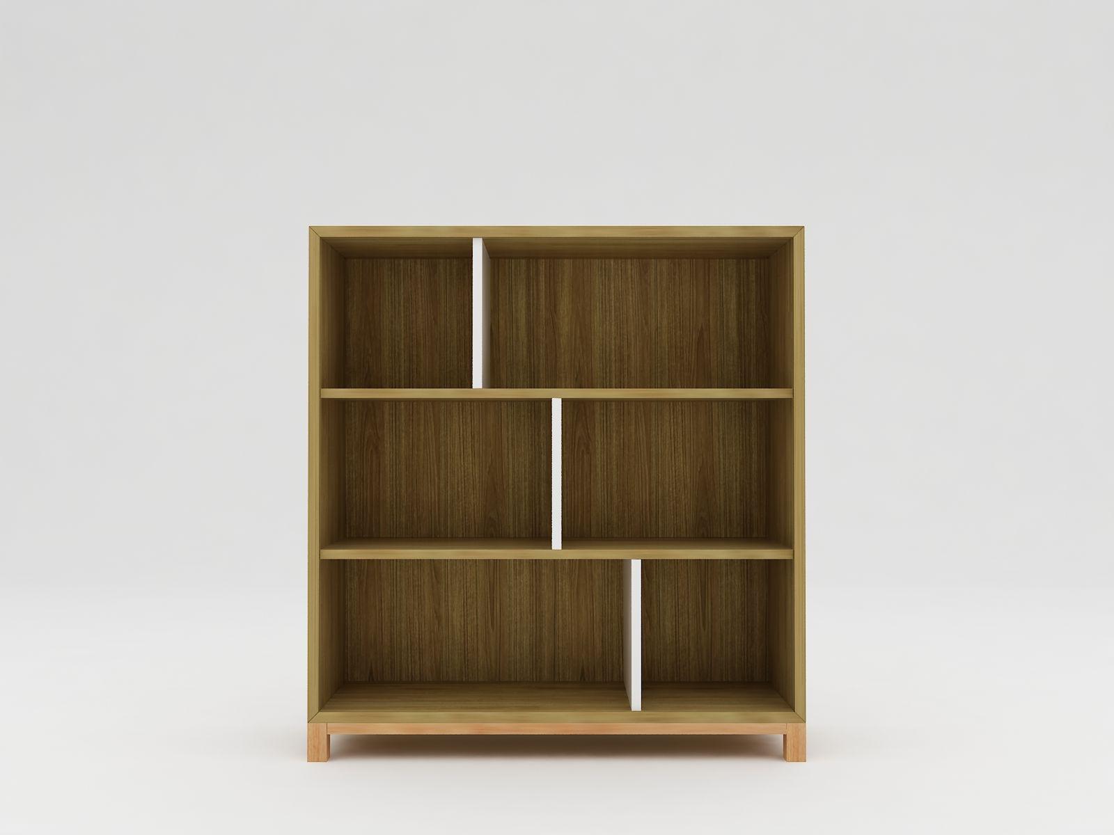 Minimalist modern furniture Rak Kayu Minimalis White Elegant Teak