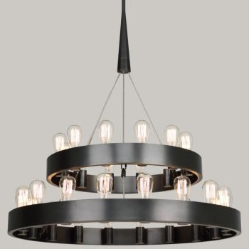 Candelaria 2-Tier Chandelier by Robert Abbey at Lumens.com