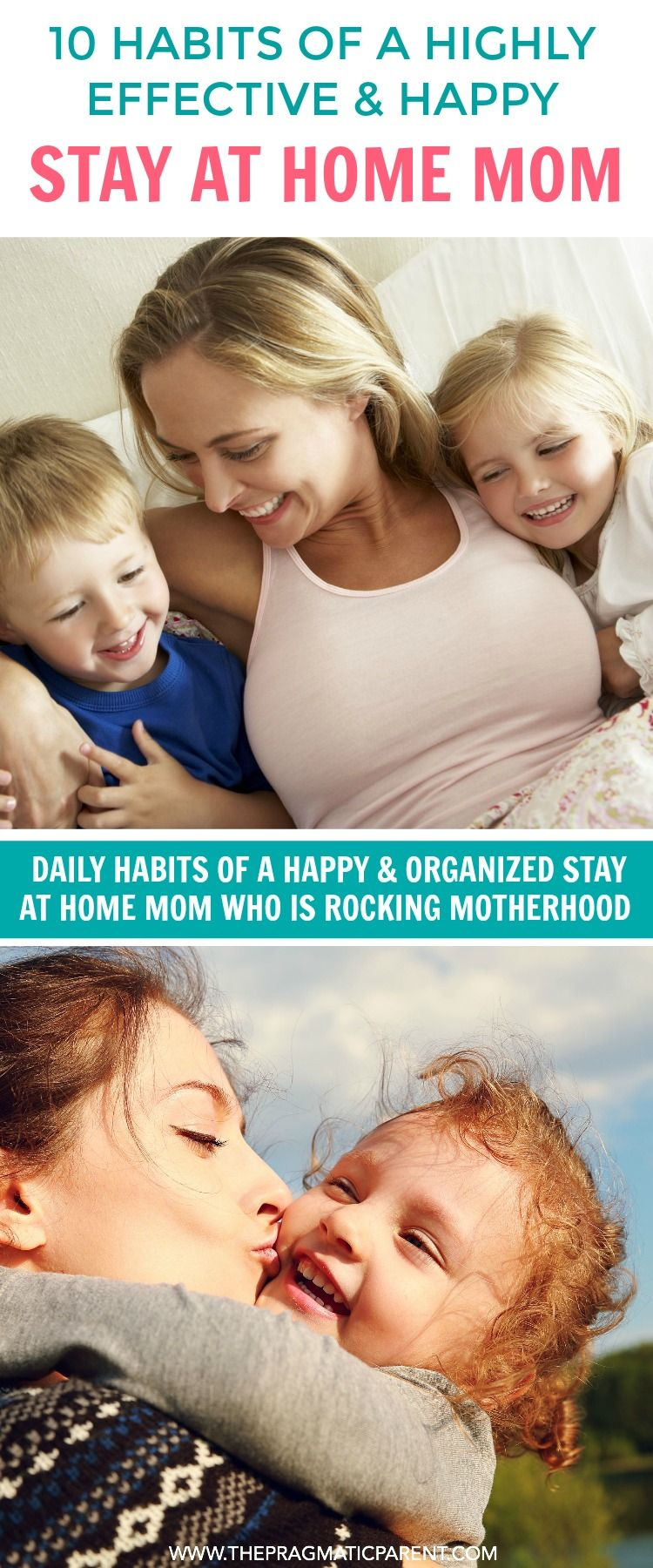 10 Things that Stay at Home Moms who are happy, organized and do daily to be highly effective and balance motherhood and home responsibilities. 10 game changing tips to being a happier Stay at Home Mom.