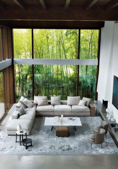 C mo decorar y redecorar el sal n espacios en for Decoracion de casas brasilenas