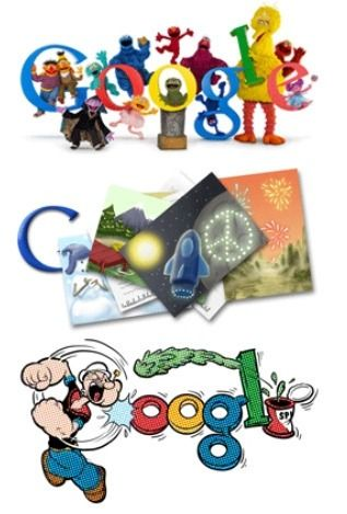 how to change the google logo to your favorite google doodle