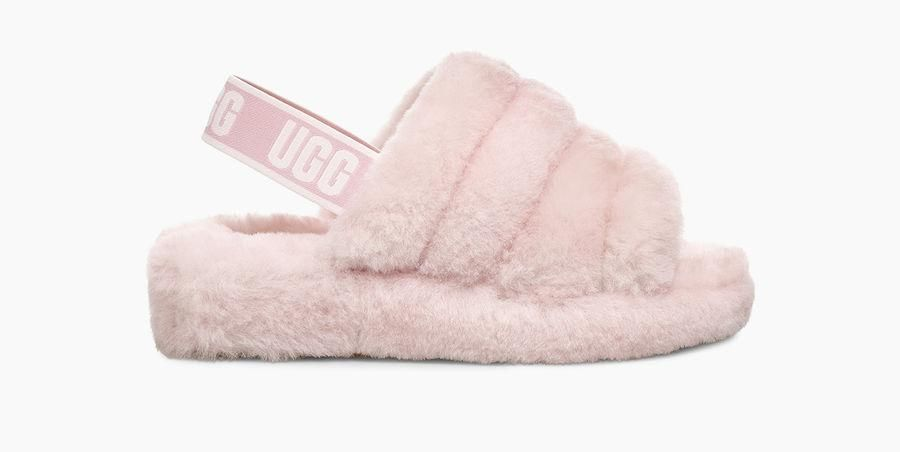 Fluff Yeah Slide Pink Ugg Slippers Pink Uggs Uggs