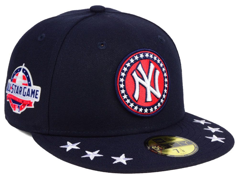 5bf4a918913fd0 Embrace your patriotism and your love of your favorite baseball team with  this New York Yankees New Era 2017 MLB Authentic Collection Stars…