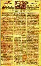 Colonial Times newspaper?