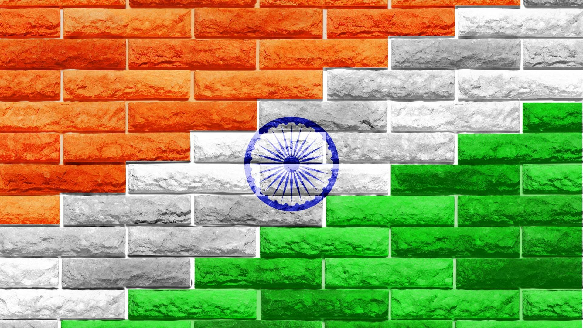 Indian Flag Bricks Ma Bharti Pinterest