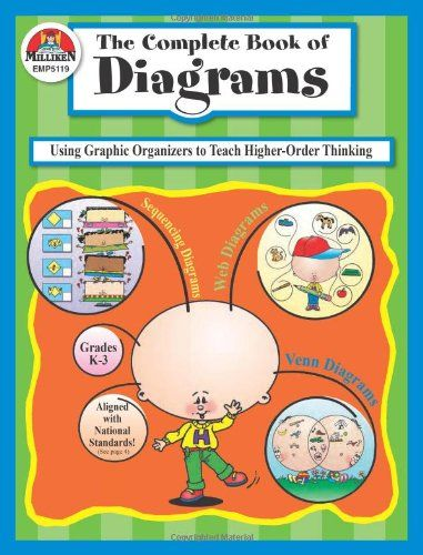 The Complete Book Of Diagrams  Using Graphic Organizers To Teach Higher