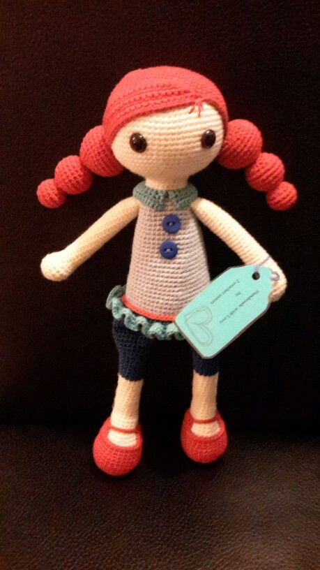 Amigurumi Handmade by mermaid3112- Crochet Pattern by DuduToyFactory