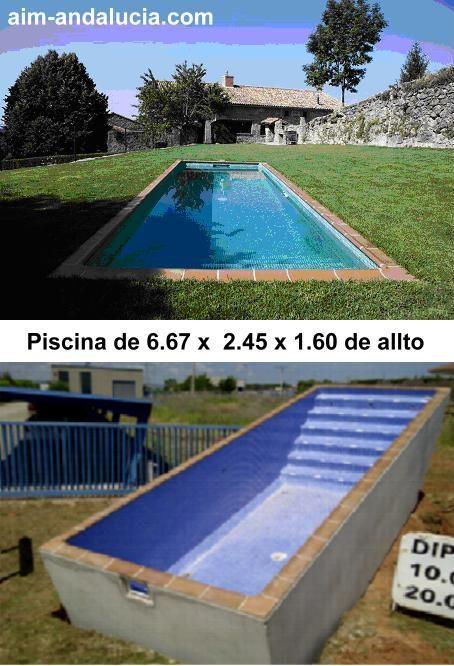 Casetas depositos y piscinas prefabricadas en hormigon for Costo de piscinas de hormigon