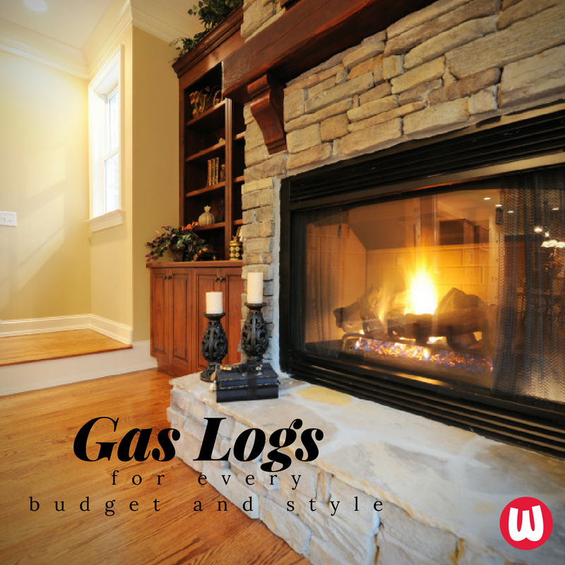 It S Chilly East To Install Gas Logs Can Warm Up Your Home This