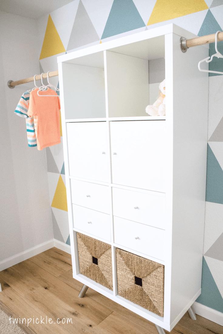 DIY Custom Closet: IKEA Kallax Hack | Einrichten und Wohnen ...