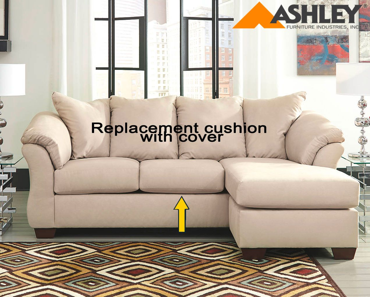 cool Replacement Couch Cushions Ashley Furniture Amazing