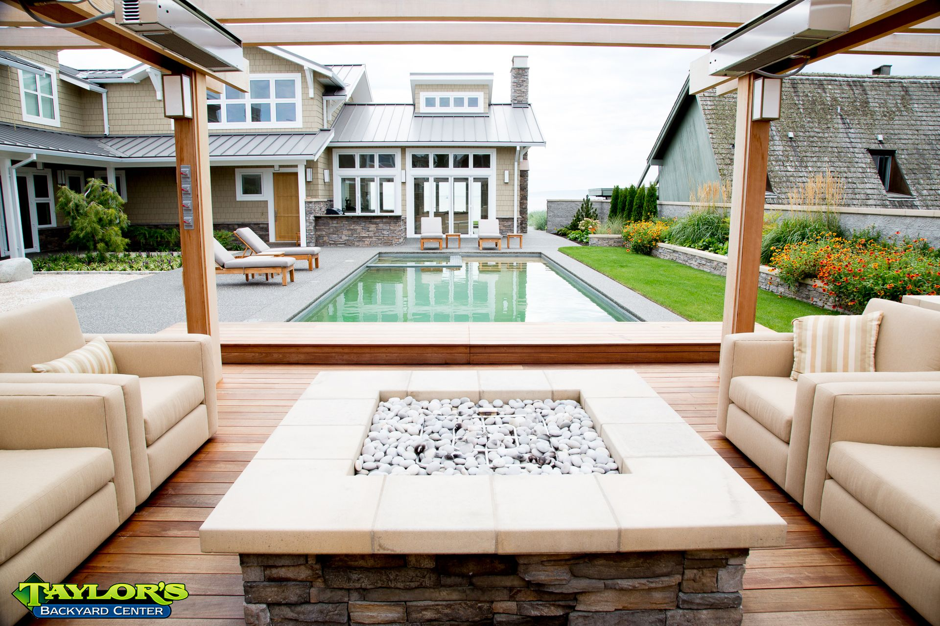 by far one of our favorite projects very modern concrete pool and