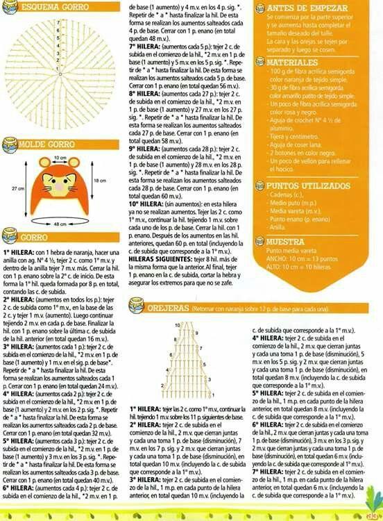 30 Crochet Gorros para Niños | REVISTAS | Pinterest | Gorros, Para ...