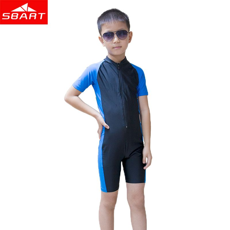 548c639d65 SBART Short Sleeve Children Wetsuit Kids Lycra Shorty Wet Suit For Boys  Girls Swim Scuba Diving Suit Anti-UV Dive Skin Wetsuit