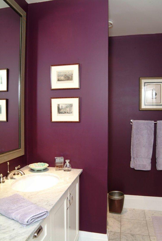 44++ Salle de bain prune trends