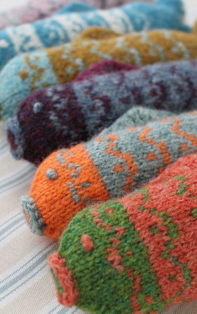 Fair Isle Fish Pdf Knitting Pattern Jacquard Pinterest