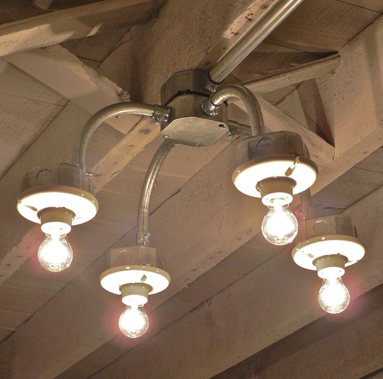 Pin By Twig Moth On Spaces Metal Lighting Conduit Lighting Light