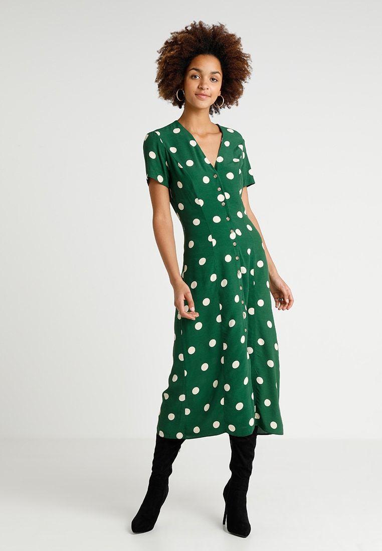 d245c38f0d GEMMA SPOT MIDI DRESS - Długa sukienka - green @ Zalando.pl 🛒 in ...