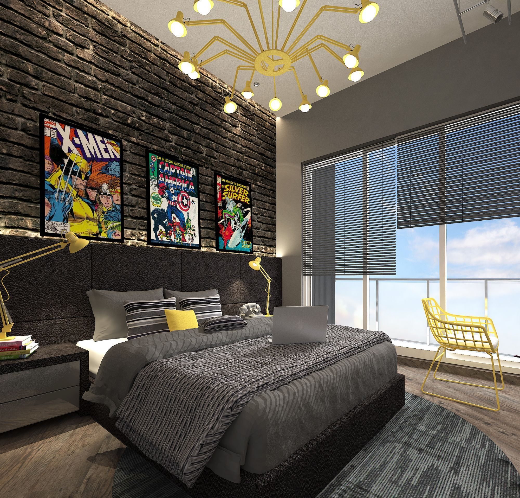 Modern Shabby Chic Bedroom: Cgarchitect Professional 3d Architectural Visualization