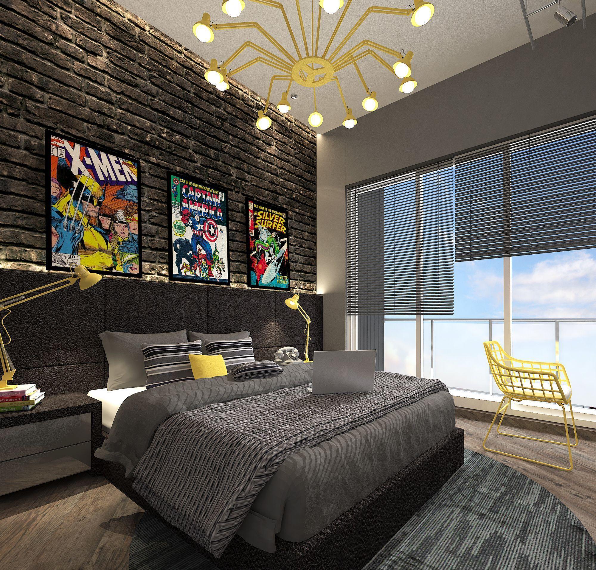 55 Wonderful Boys Room Design Ideas: Cgarchitect Professional 3d Architectural Visualization